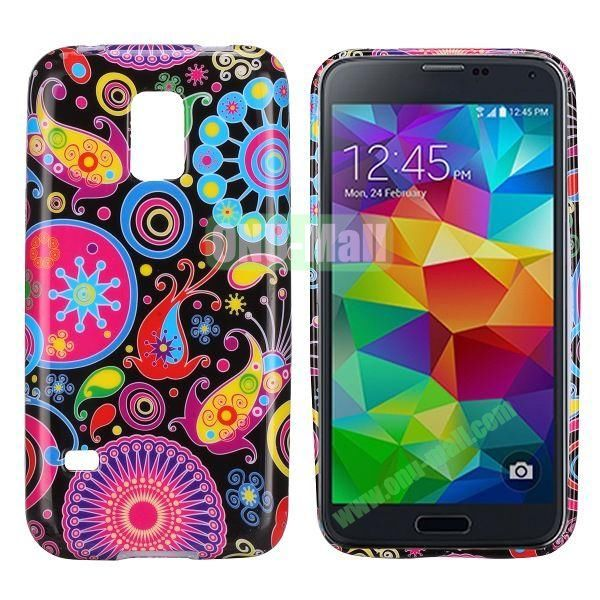 Colorful Pattern TPU Case Cover for Samsung Galaxy S5 Mini G870a G800 S5 Dx G870W