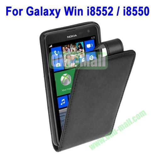 For Samsung Galaxy Win Flip Leather Case For Samsung i8552  i8550