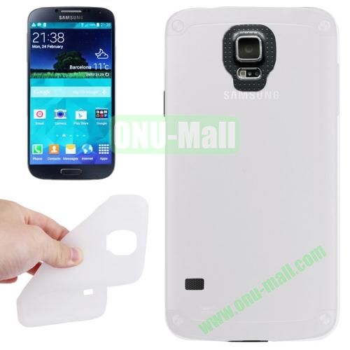 Anti-scratch Silicone Case for Samsung Galaxy S5  SV  i9500x  (White)