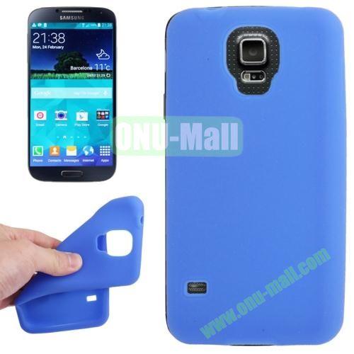 Anti-scratch Silicone Case for Samsung Galaxy S5  SV  i9500x  (Blue)