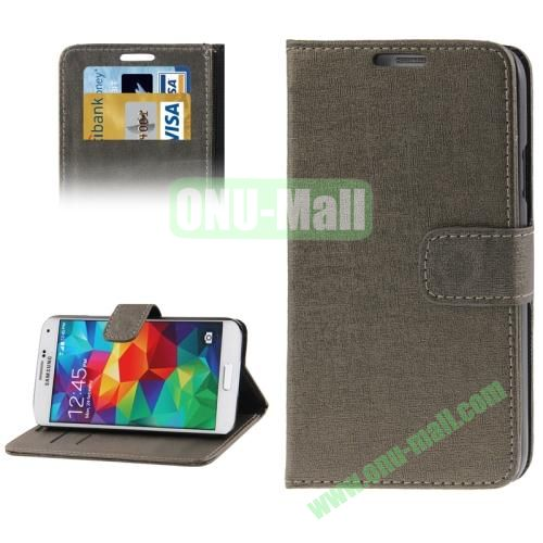 Oracle Pattern Leather Case for Samsung Galaxy S5  i9600 with Credit Card Slots (Aeruginosa Stone)