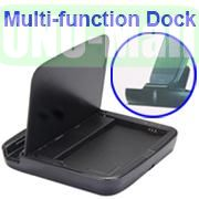 Multi-function Dock Docking Charger for Samsung Galaxy S5 I9600 G900 With Battery Slot (Black)