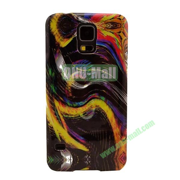 Colorful Painting Glossy Ultraslim TPU Case for Samsung Galaxy S5 I9600 G600 (Abstract Painting)