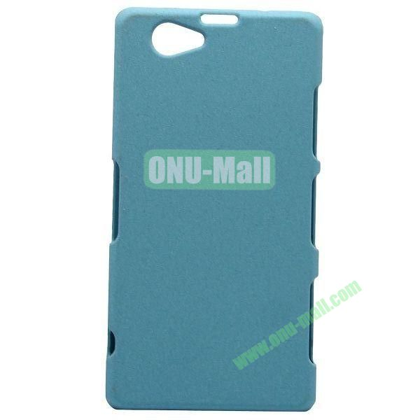 Quicksand Style Plastic Case for Sony Xperia Z1 Compact (Blue)