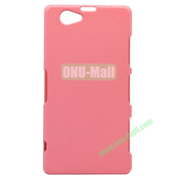 Quicksand Style Plastic Case for Sony Xperia Z1 Compact (Pink)