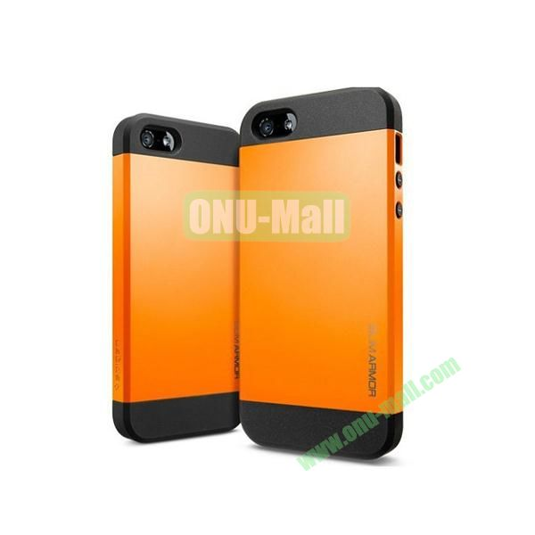 Slim Armor 2 in 1 Style Hard Case for iPhone 55S (Orange)