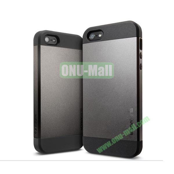 Slim Armor 2 in 1 Style Hard Case for iPhone 55S (Grey)