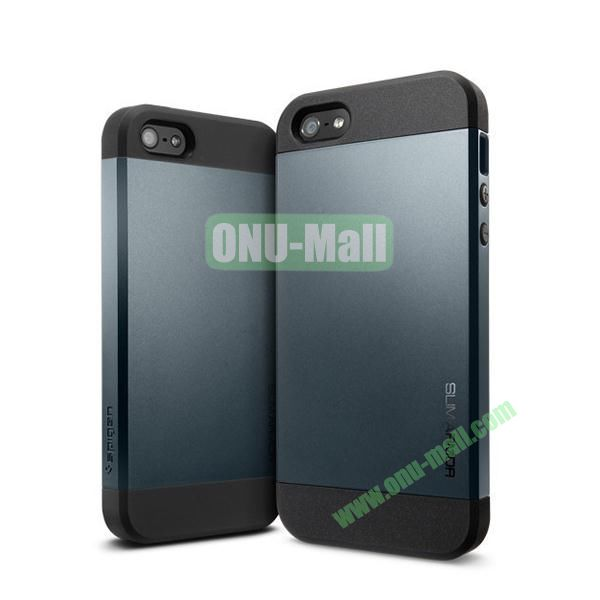 Slim Armor 2 in 1 Style Hard Case for iPhone 55S (Black)