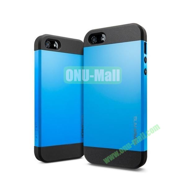 Slim Armor 2 in 1 Style Hard Case for iPhone 55S (Blue)