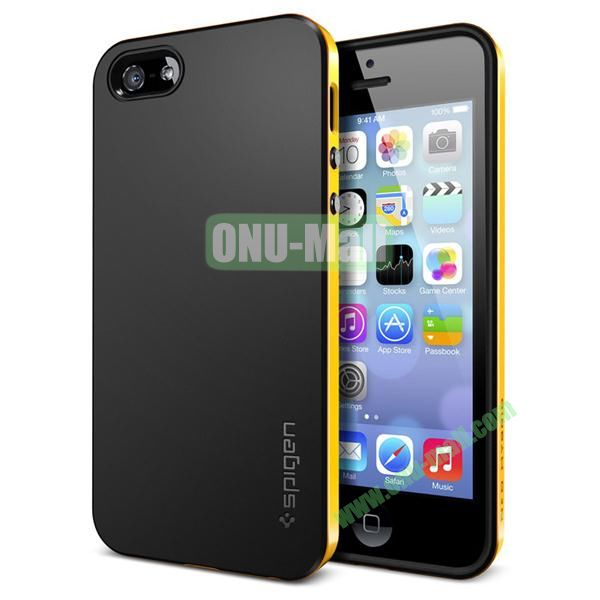 Official Neo Hybrid Case for iPhone 5S & 5 (Yellow)