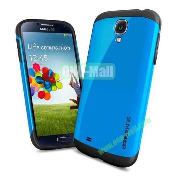 Slim Armor Case for Samsung Galaxy S4 (Blue)