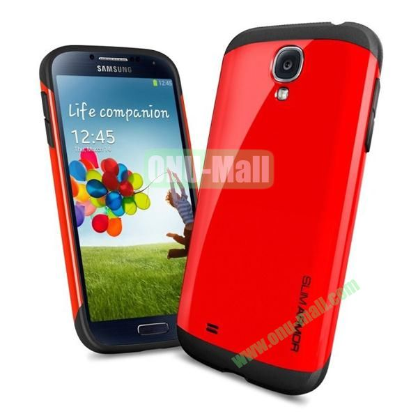 Slim Armor Case for Samsung Galaxy S4 (Red)