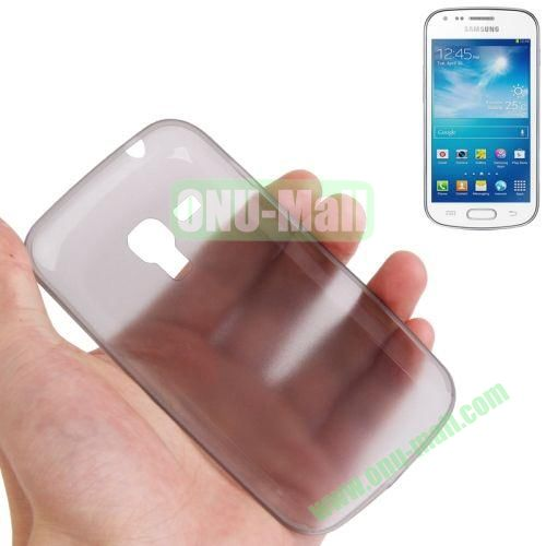 0.3mm Ultrathin Frosted Shell Case for Samsung Galaxy Trend DuosS7562 (Grey)
