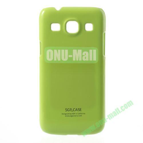 Ultra-thin Glossy Hard Case for Samsung Galaxy Core Plus G3500  Galaxy Trend 3 G3502 G3508 (Green)