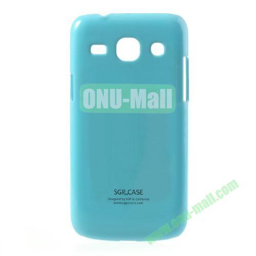 Ultra-thin Glossy Hard Case for Samsung Galaxy Core Plus G3500  Galaxy Trend 3 G3502 G3508 (Blue)