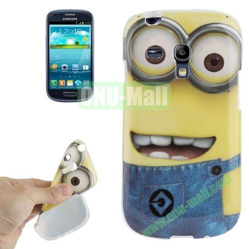 For Samsung Galaxy S III MiniI8190 Minions Pattern TPU Case