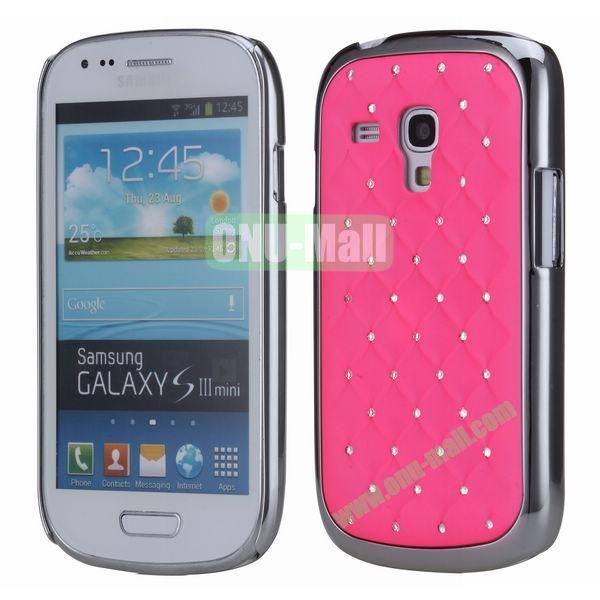 Bling Bling Diamond Stars Sky Hard Case Cover for Samsung SIII MiniI8190 (Red)