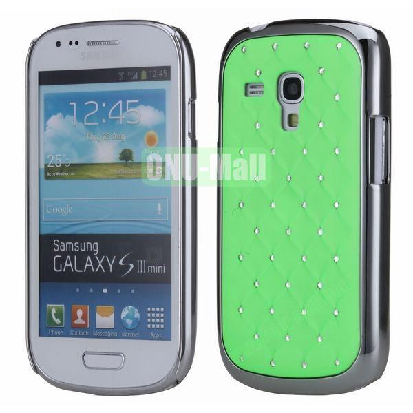 Bling Bling Diamond Stars Sky Hard Case Cover for Samsung SIII MiniI8190 (Green)