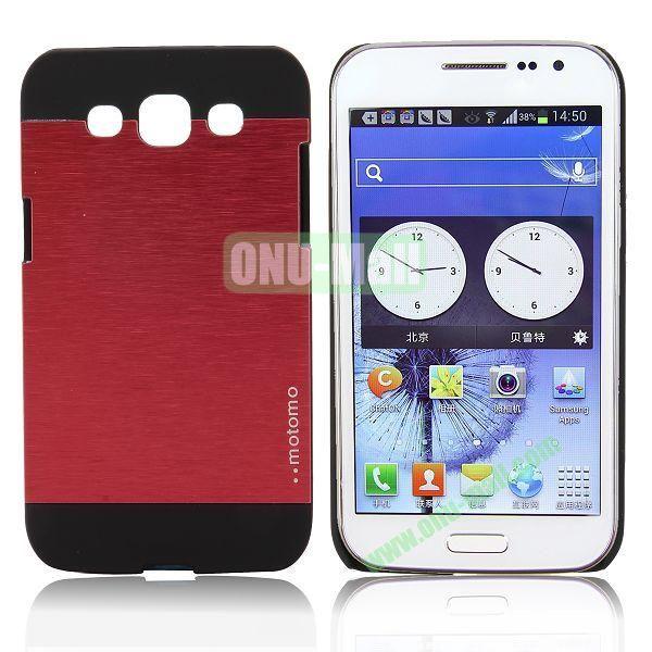Motomo Aluminium Alloy Hard Case for Samsung Galaxy Win  I8552 (Red)