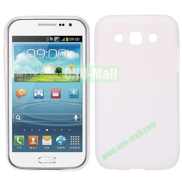 Frosted Design TPU Case For Samsung Galaxy Win i8550 i8552 (White)