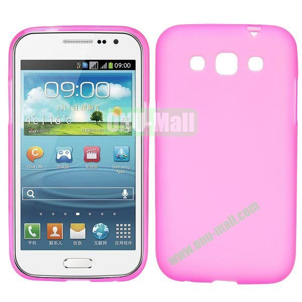 Frosted Design TPU Case For Samsung Galaxy Win i8550 i8552 (Rose)
