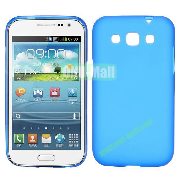 Frosted Design TPU Case For Samsung Galaxy Win i8550 i8552 (Blue)
