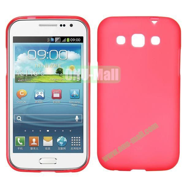 Frosted Design TPU Case For Samsung Galaxy Win i8550 i8552 (Red)