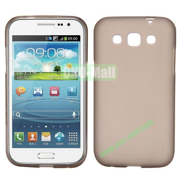 Frosted Design TPU Case For Samsung Galaxy Win i8550 i8552 (Coffee)