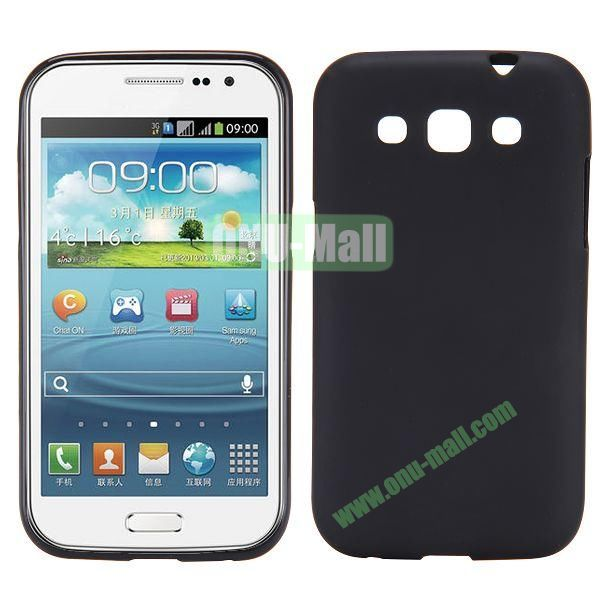 Frosted Design TPU Case For Samsung Galaxy Win i8550 i8552 (Black)