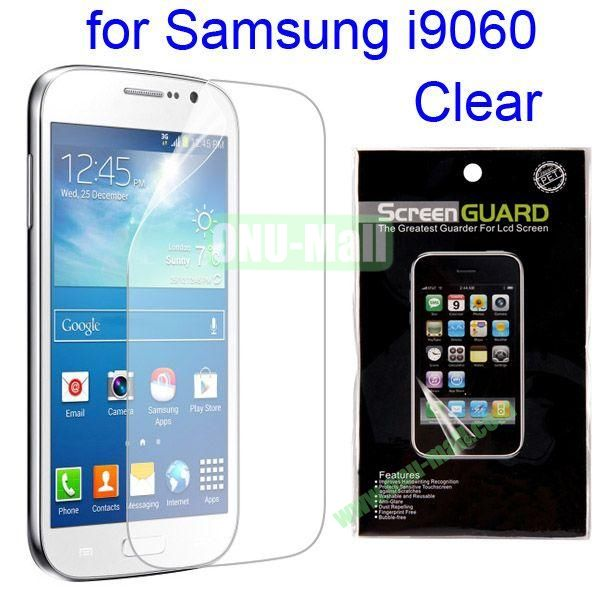 Film Guard Screen Protector For Samsung Galaxy Grand Neo  I9060 (Clear)