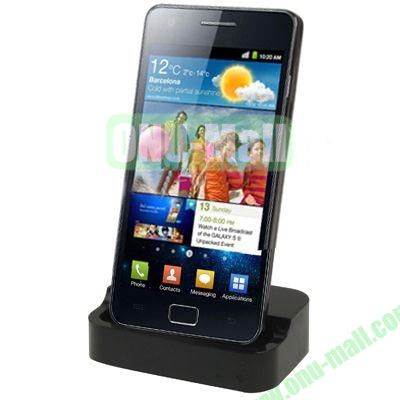 Desktop Dock Charger for Samsung Galaxy S2 SII  i9100(Black)