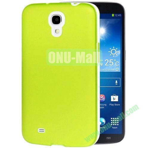 Transparent Frosted PC Frame+TPU Case For Samsung Galaxy Mega 6.3  I9200 (Green)