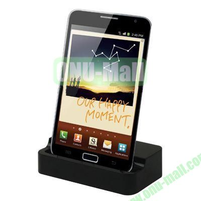 Desktop Dock Charger for Samsung Galaxy Note  i9220(Black)