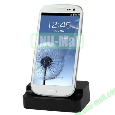 Charger Dock Station for Samsung Galaxy S3i9300(Black)