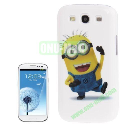 for Samsung Galaxy S3I9300 Minions Pattern Plastic Case