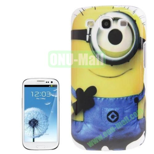 for Samsung Galaxy S3I9300 Minions Pattern Plastic Case