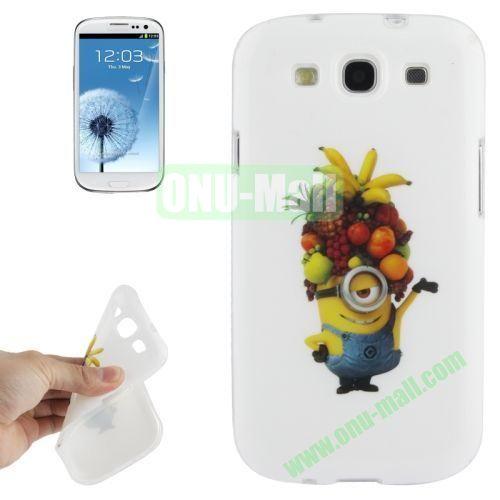 For Samsung Galaxy S IIII9300 Minions Pattern TPU Case