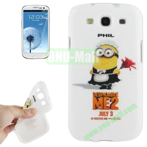 For Samsung Galaxy S IIII9300 Minions Pattern TPU Case