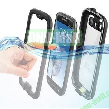 Nuud Waterproof Case for Samsung Galaxy S3  I9300 (Black)