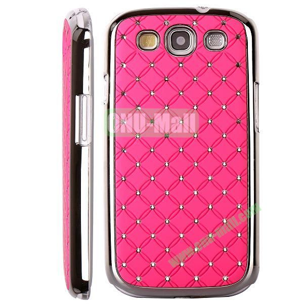 Bling Bling Diamond Stars Sky Hard Case Cover for Samsung Galaxy S IIII9300 ( Pink )