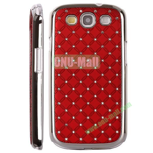 Bling Bling Diamond Stars Sky Hard Case Cover for Samsung Galaxy S IIII9300 ( Red )