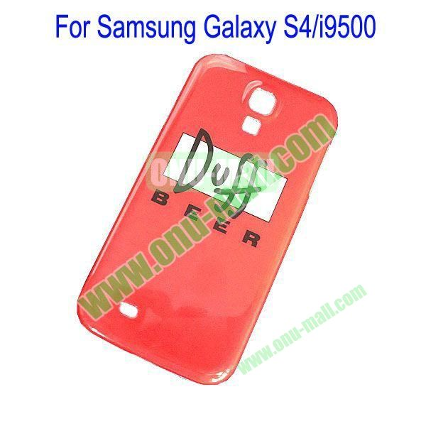 Duff Beer Pattern Hard Case Cover  for Samsung Galaxy S4i9500