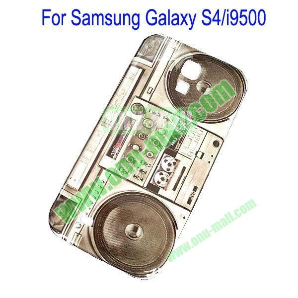 Tape Recorder Hard Shell Case for Samsung Galaxy S4i9500