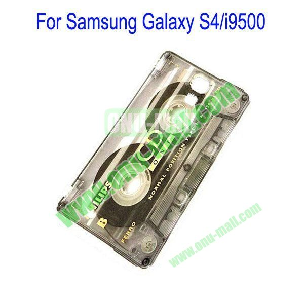 Simple Classical Cassette Tape Hard Case for Samsung Galaxy S4i9500