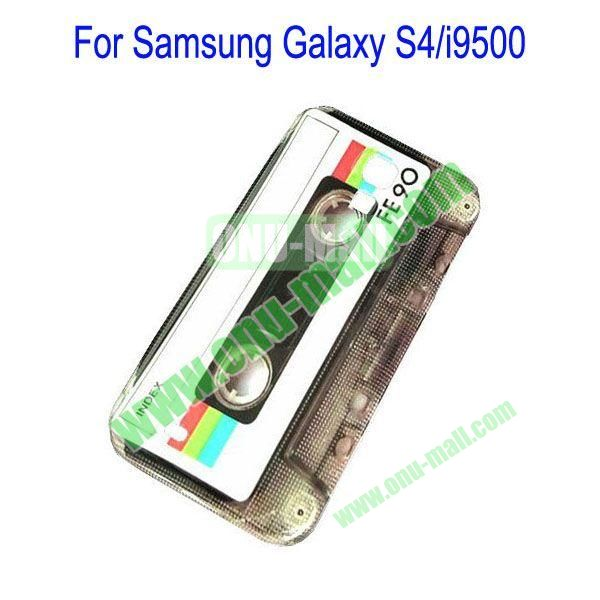 Cassette Pattern Hard Case for Samsung Galaxy S4i9500