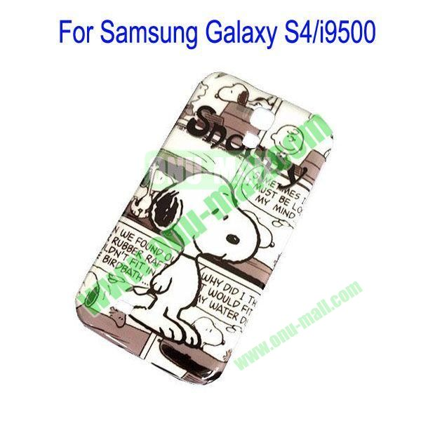 Snoopy Pattern Hard Case for Samsung Galaxy S4i9500