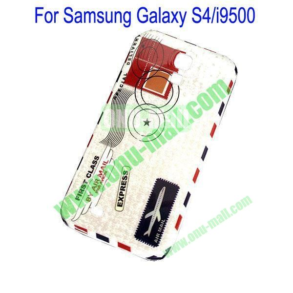 Simple Air Mail Express Envelope Hard Case for Samsung Galaxy S4i9500