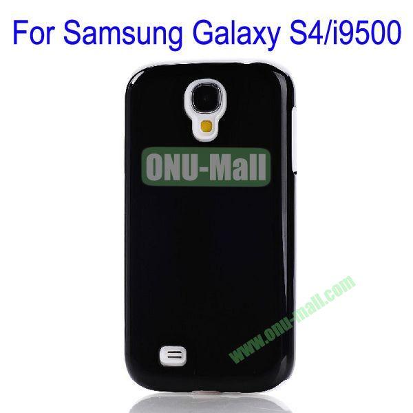 Fashion PC+TPU Glossy Case Cover for Samsung Galaxy S4i9500(Black+White)