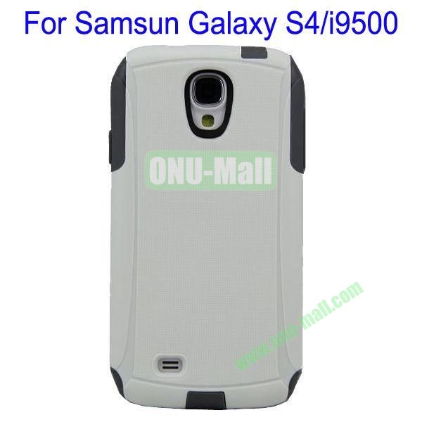 High Quality 2 in 1 Commuter Case Cover for Samsung Galaxy S4i9500(White+Black)