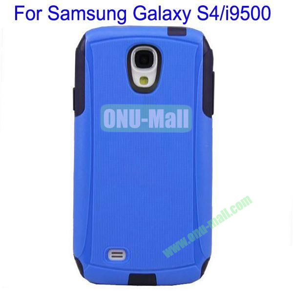High Quality 2 in 1 Commuter Case Cover for Samsung Galaxy S4i9500(Blue+Black)